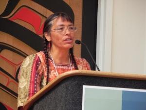 Roxanne Swentzell speaks at FUZE.SW 2014